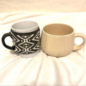 Cozy Sweater Mug Lot - New / Never Used